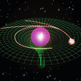 Se reproduce la curvatura del espacio-tiempo dentro de un chip -  PUBLICACIONES DYNA